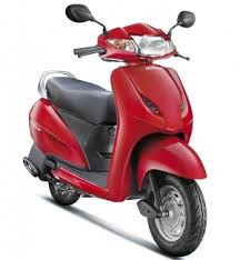 Honda Activa 3G red front look image