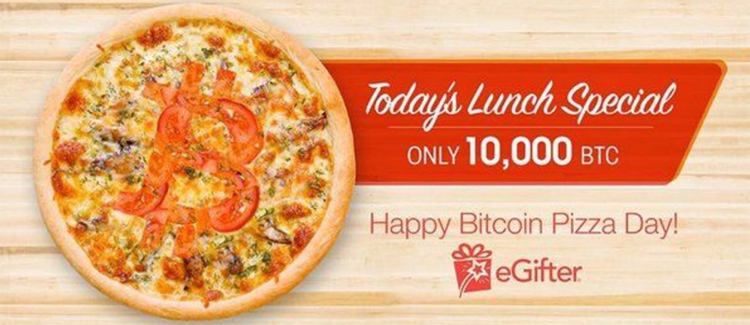 10,000 bitcoin for 2 papa john pizzas