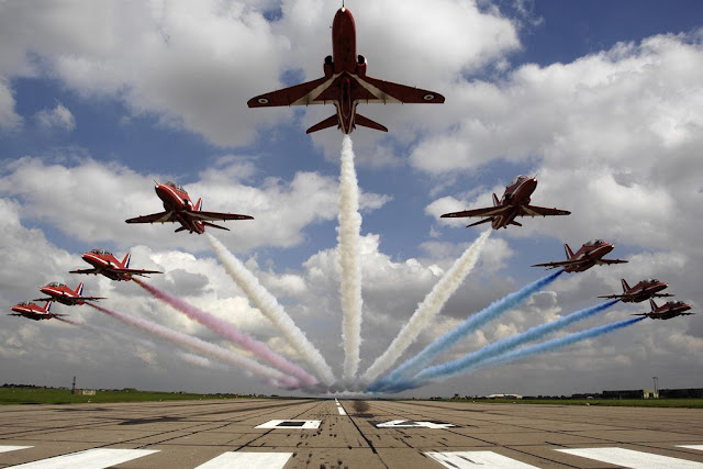 RAF Red Arrows Middle East tour