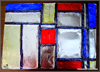 Artist Study - Piet Mondrian on the Virtual Refrigerator, an art link-up hosted by Homeschool Coffee Break @ kympossibleblog.blogspot.com #virtualfridge