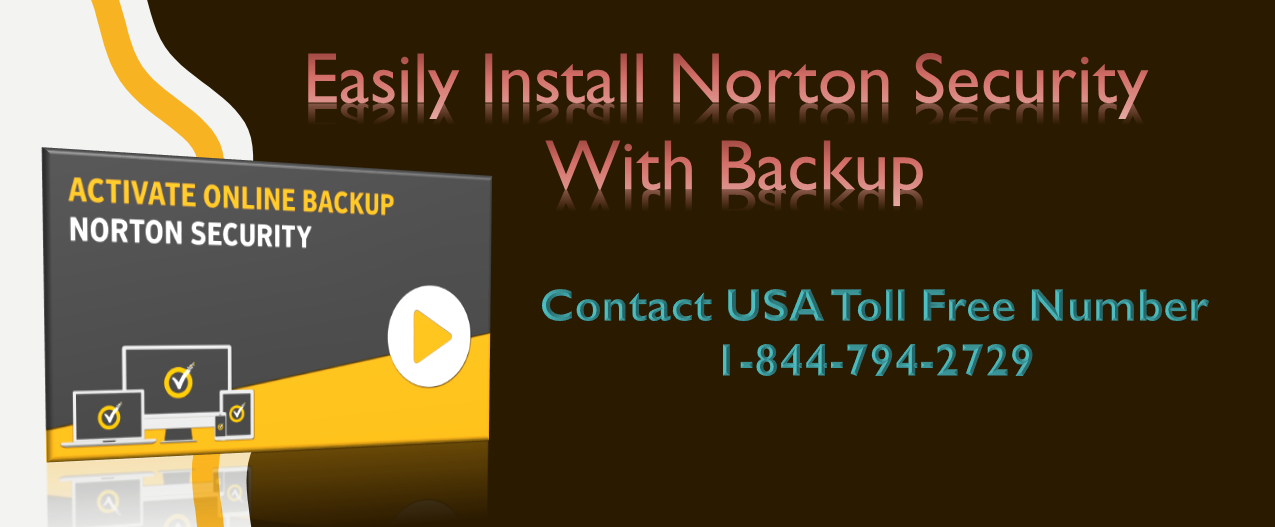 Install Norton Security With Backup