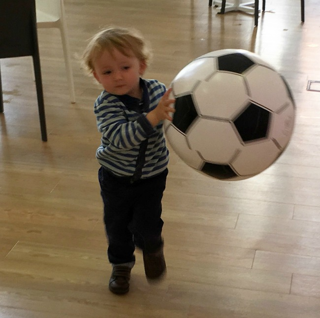 our-week-of-plays-toddler-with-giant-inflatable-football