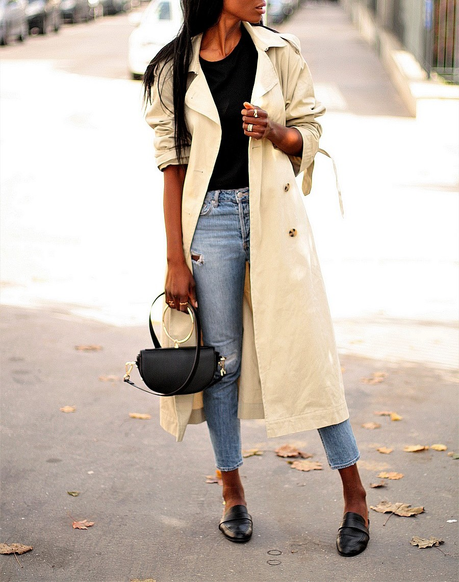 inspiration-look-automne-trench-mules-jeans-dechire