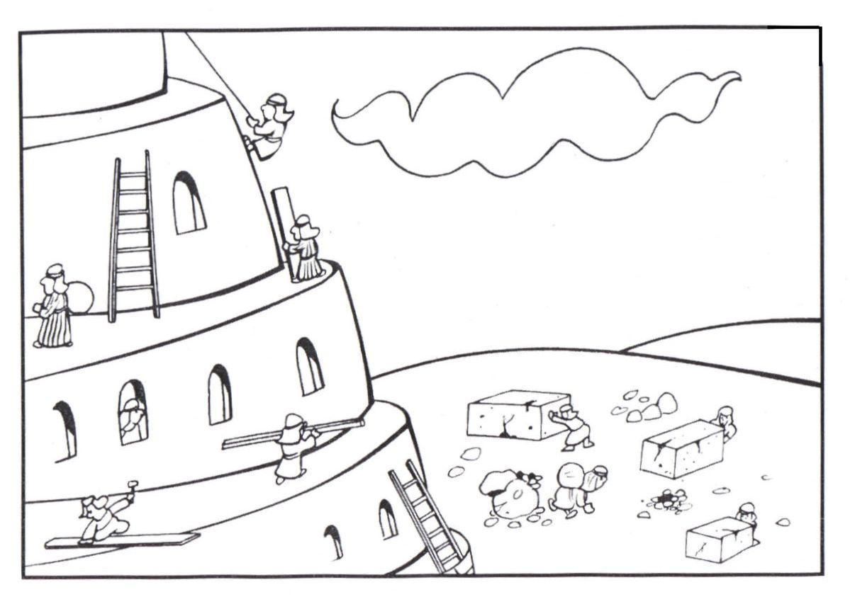 Minha Heranca Colorindo A Torre De Babel