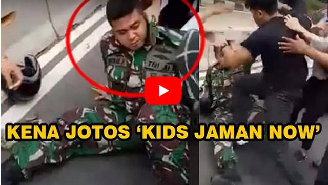 Ternyata Tenaga Wanita Lebih Kuat Daripada Lelaki, Video TNI Adu Jotos Ini Buktikan Kebenarannya!