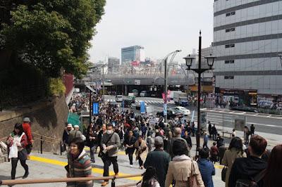 Ueno Station during Spring