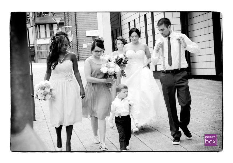 Birmingham Registry Office Walsall Arboretum Picture Box Wedding Photography