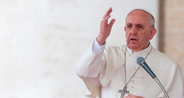 Papa afirma que os momentos de crise também são uma oportunidade de crescer – Reprodução