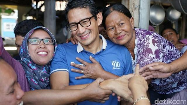 Sandiaga: Nama Presiden dan Wapres Sudah Tercatat di <i>Lauhul Mahfudz</i>