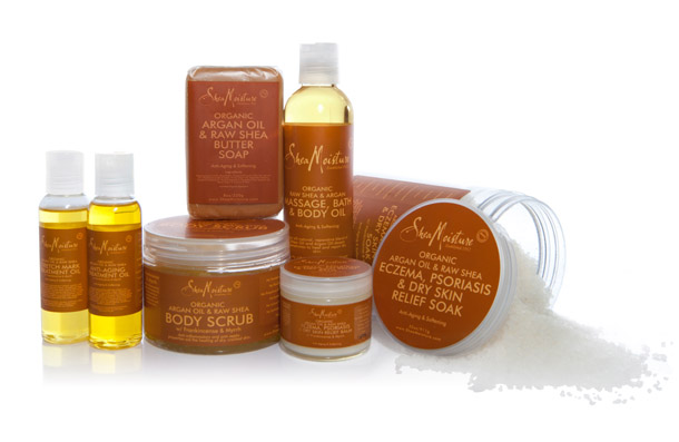 PRODUCT REVIEW: Shea Moisture Argan Oil Collection