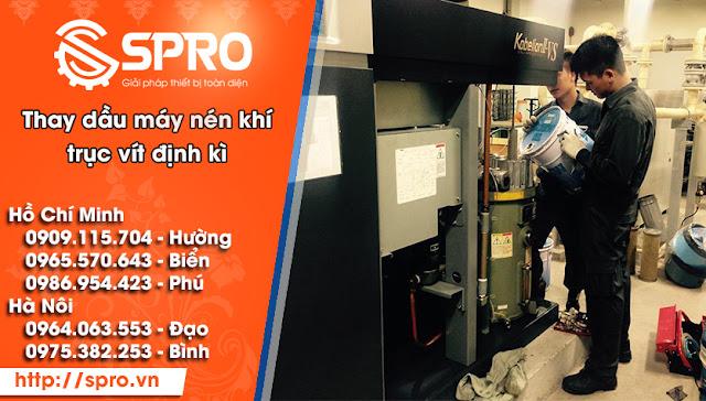 Tổng hợp lỗi và cách khắc phục khi sử dụng máy nén khí trục vít - 204020