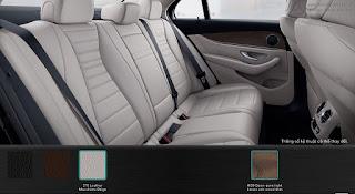 Nội thất Mercedes E200 Edition E 2015 màu Vàng Macchiato 215
