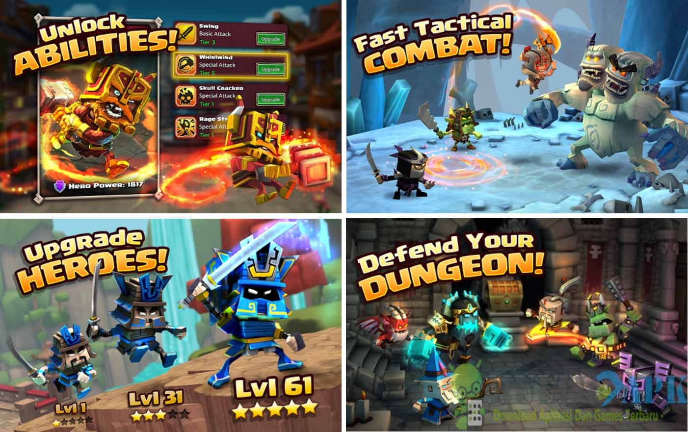 Dungeon Boss Mod v0.5.8557 Apk (God Mode)