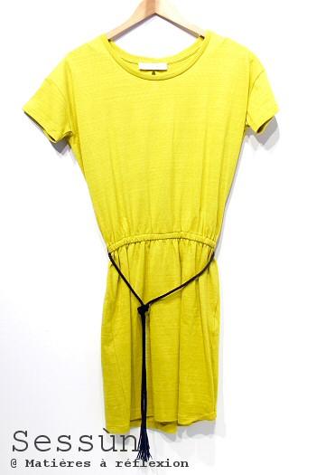 Sessùn robe jaune
