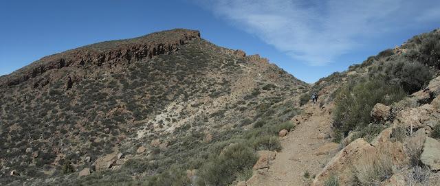 Mar a Cumbre - PR-TF-86 + Ruta 8 El Filo (Parque Nacional del Teide) - Montaña Morro El Río - Tenerife - Islas Canarias