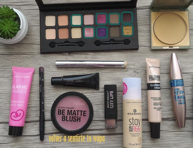 Maquillaje con productos de City Color