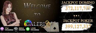 GALERIQQ.COM AGEN BANDARQ | DOMINO 99 | BANDARQ | SAKONG ONLINE TERPERCAYA