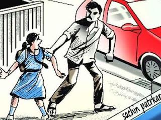 स्कूल सेआ रही छात्रा का बदमाशों ने किया अपहरण, भाई ने कार पीछा कर बहन को छुड़ाया