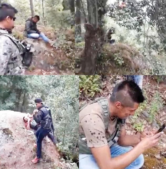 Sicarios se graban emboscando a policías