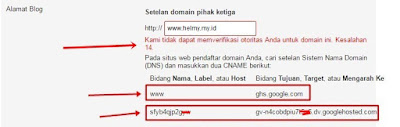 Mengatasi Error14 Ketika Custom Domain