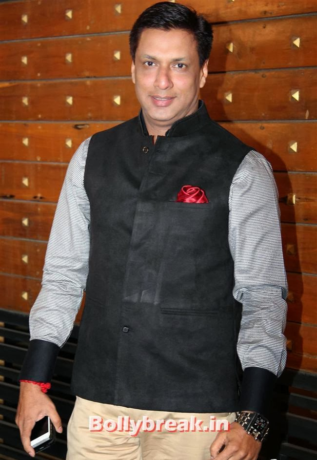 Madhur Bhandarkar, Filmfare Awards 2014 Red carpet Images
