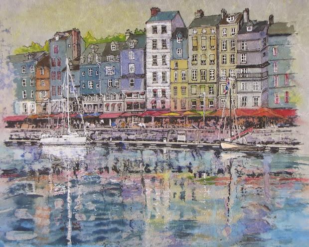 "Bev Morgan Painting Adventures ""france Series"" Started"