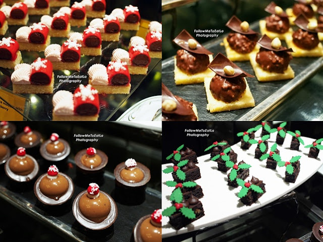Opera Cakes, Salted Coconut Candy, Crispy Chocolate Mousse & Pecan Brownies