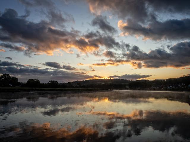 Photo of sunrise at Kirkcudbright