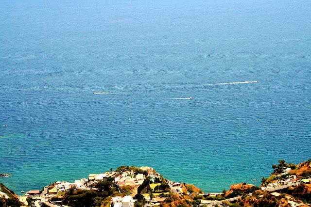 mare, acqua, case, monti, isola, Ischia, barche