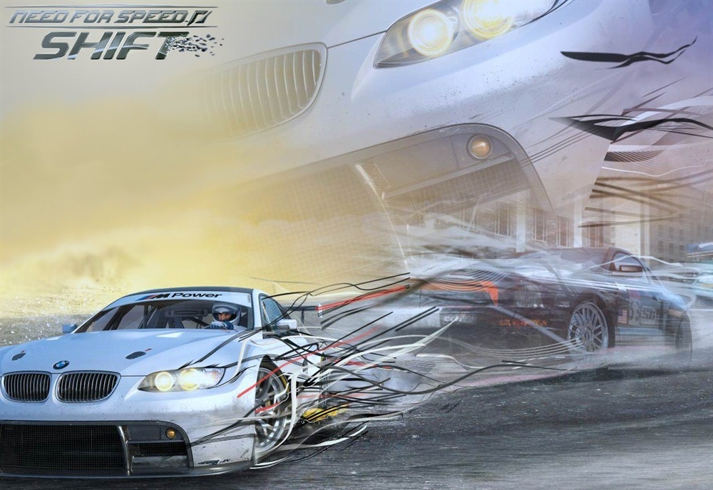 Need For Speed Shift Download Poster