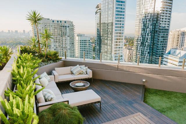 Desain taman atap