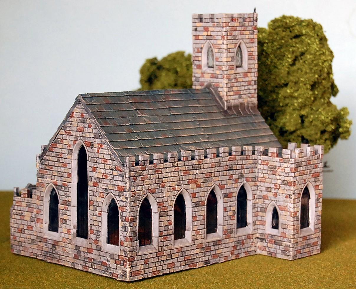 Miniature Minions Ho Scale Buildings With Linka