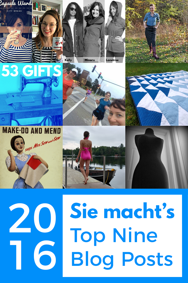 Check out Sie macht's top nine blog posts of 2016!