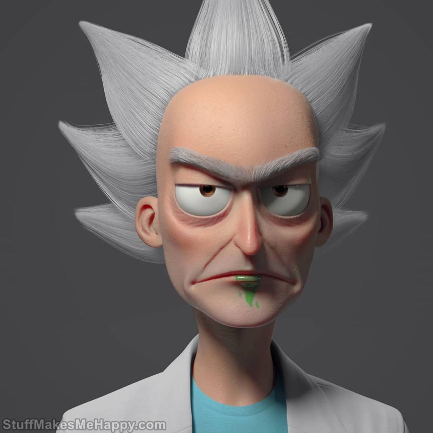 6. Rick Sanchez, Rick and Morty