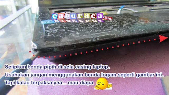 Cara membuka Casing Laptop Asus A42F
