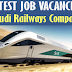 Latest Job Vacancies at Saudi Railways Company (SAR) - Apply Now