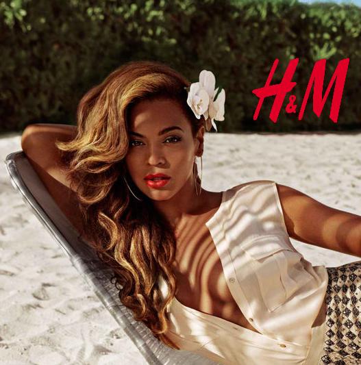 d36cc4194ca Η σούπερ σταρ με τις πιο θηλυκές καμπύλες, Beyoncé, θα είναι το νέο πρόσωπο  της H&M για την καμπάνια της συλλογής Καλοκαίρι 2013.