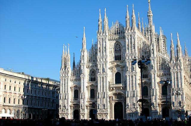 Catedral de Milão na Itália