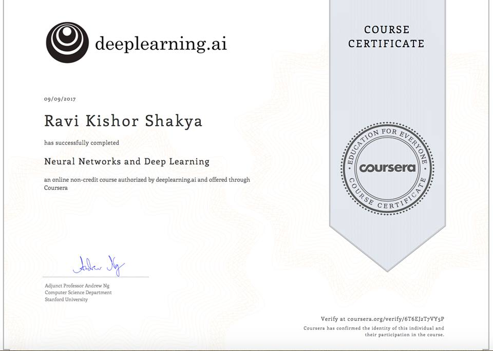 Successful Completion Of Mongodb For Developers Course Ravi