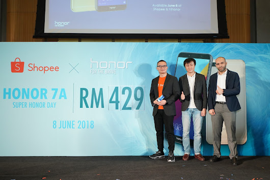[Event] 独家推介 Super honor Day the honor 7A及Phantom Green honor 10 - by Shopee Malaysia