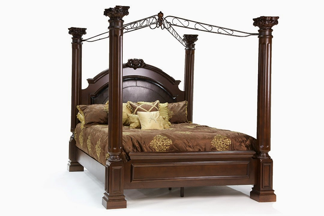 king canopy beds - 28 images - kensington brass king ...