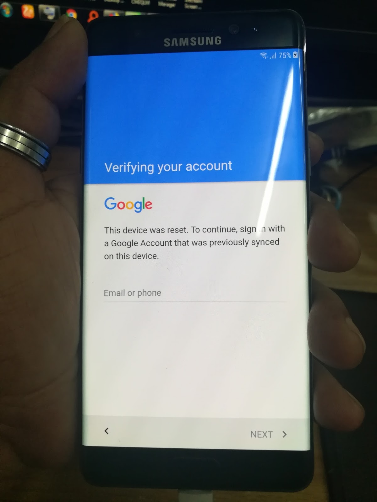 Samsung N935F Remove Frp With Combination File (Galaxy Note FE
