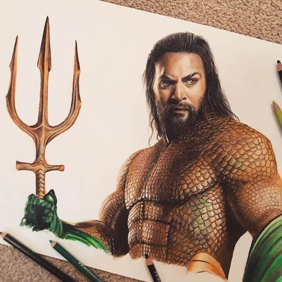 07-Aquaman-Jason-Momoa-Chris-Pencil-Drawings-www-designstack-co