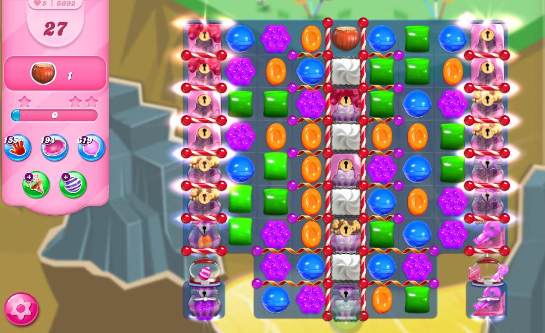 Candy Crush Saga level 6692