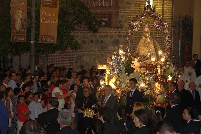 Celebración eucarística día grande fiestas de Illescas. IMAGEN COMUNICACIÓN ILLESCAS