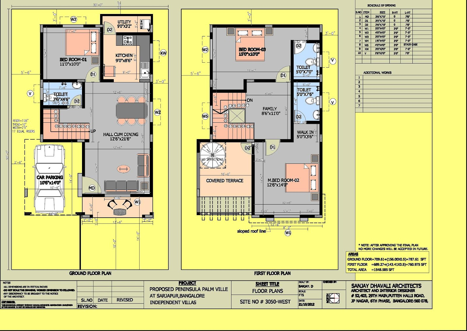 30 40 house plans south facing in bangalore for House plans for 30x40 site