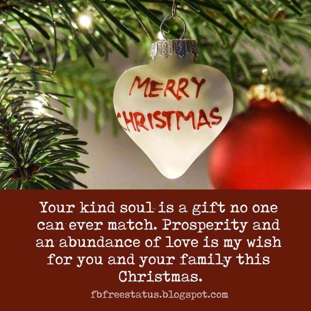 christmas gift message to employees