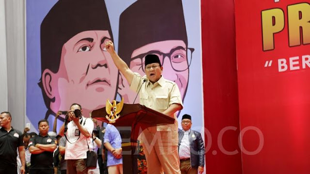 Prabowo: Amien Rais Lawan Orde Baru Sekarang Bareng Anak Soeharto
