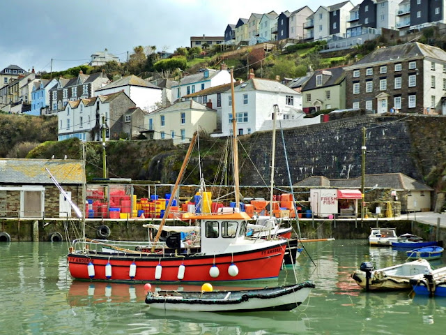 Mevagissey harbour, Cornwall, England