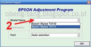 Cara Reset Epson TX111 Service Required